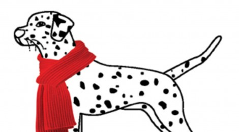 Free Save The Spotted Dog Christmas Cards