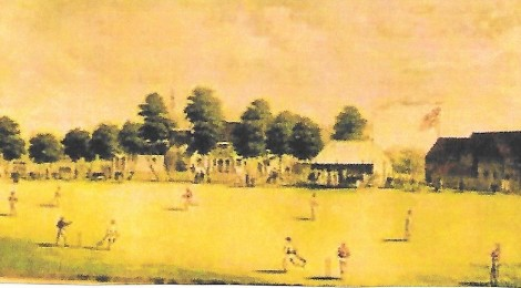 Bowled Over in the 1840's